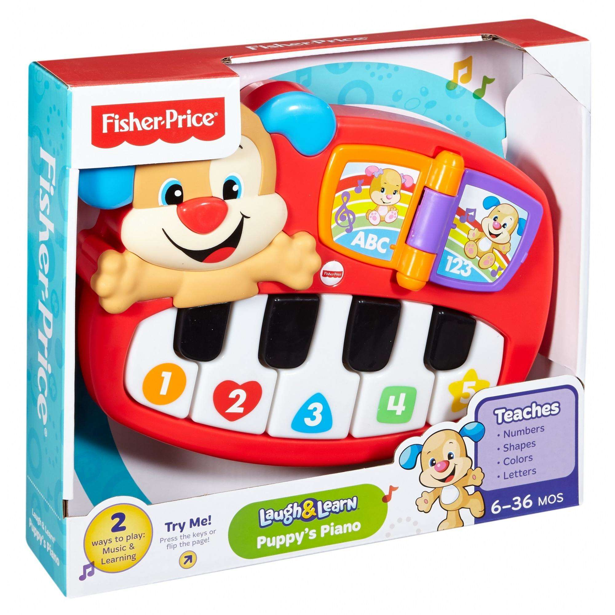 Fisher Price Laugh Learn Puppys Piano Walmart
