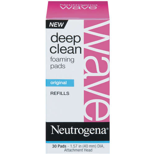 Neutrogena Wave Deep Clean Refills, Foaming Pads