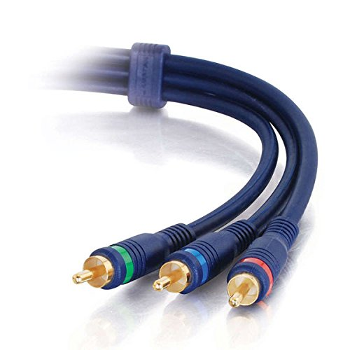 1.5FT COMPONENT VIDEO CABLE 3X RCA/RCA M/M VELOCITY