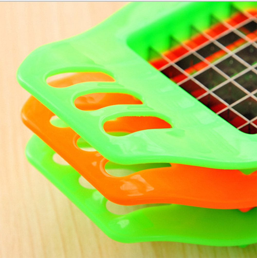 Outtop NEW Vegetable Potato Slicer Cutter Chopper Chips Making Tool Potato Cutting Tool