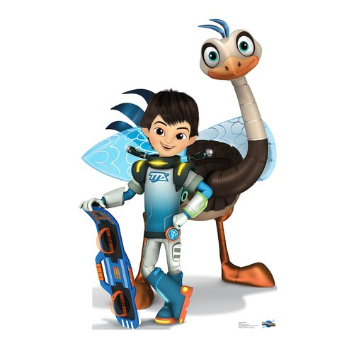 Advanced Graphics Miles and MERC Disney's Miles from Tomorrowland Life Size Cardboard Cutout