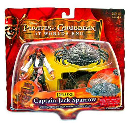Pirates of the Caribbean Series 3 Captain Jack Sparrow Action Figure