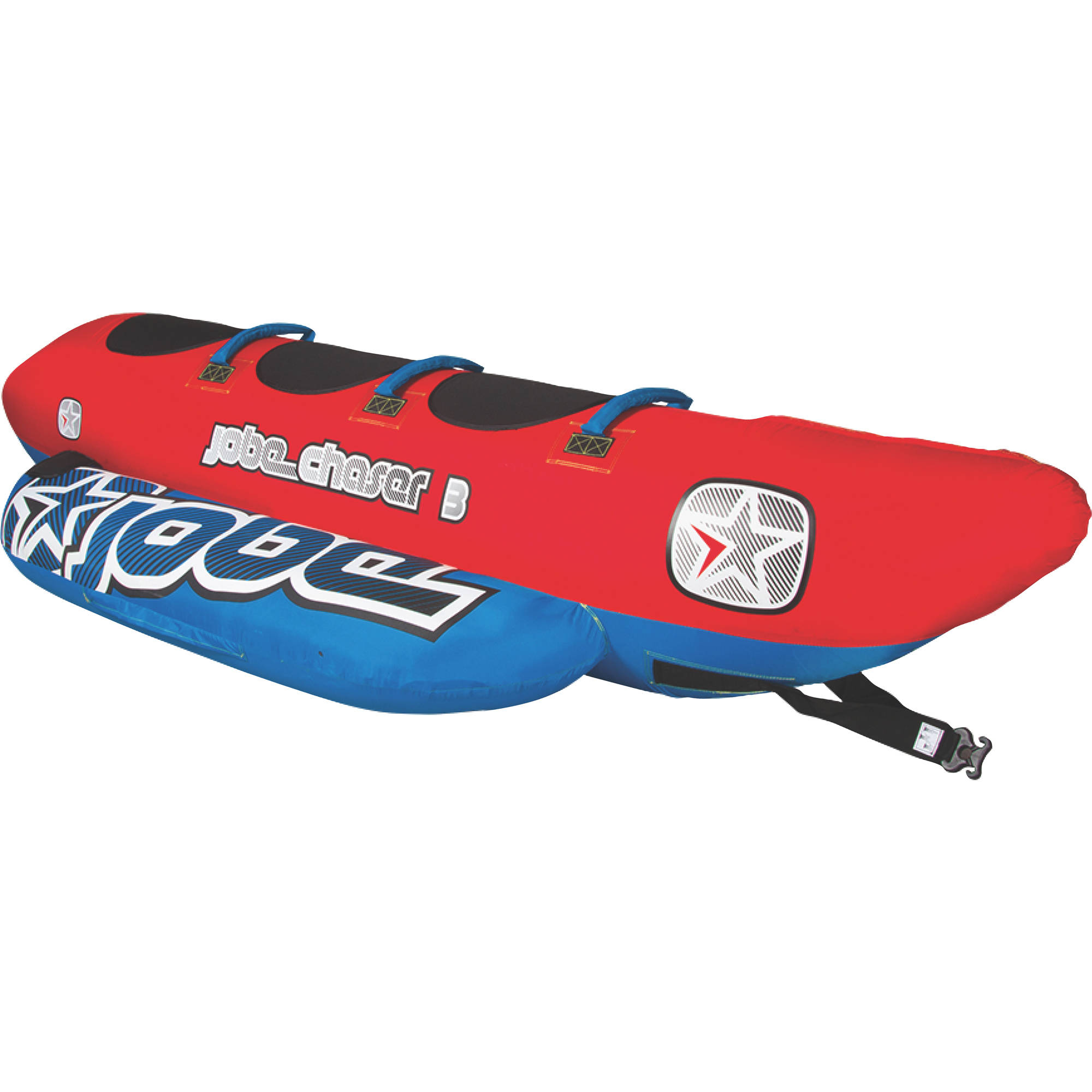 Jobe 230314001 Chaser 3 Person Inflatable Towable