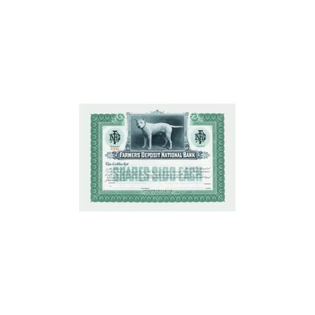 Farmers Deposit National Bank Print  Unframed Paper Print 20X30