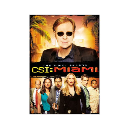 CSI: Miami - The Final Season (DVD)