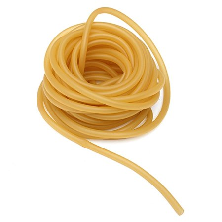 HURRISE 6x9mm Natural Latex Rubber Band Rubber Hose for Slingshot Catapult Surgical Tube Elastic Parts , Elastic Band, Elastic Rubber Band