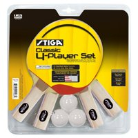 STIGA Classic 4-Player Table Tennis Set