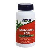NOW Foods - TestoJack 200 with Tongkat Ali - 60 Vegetarian Capsules