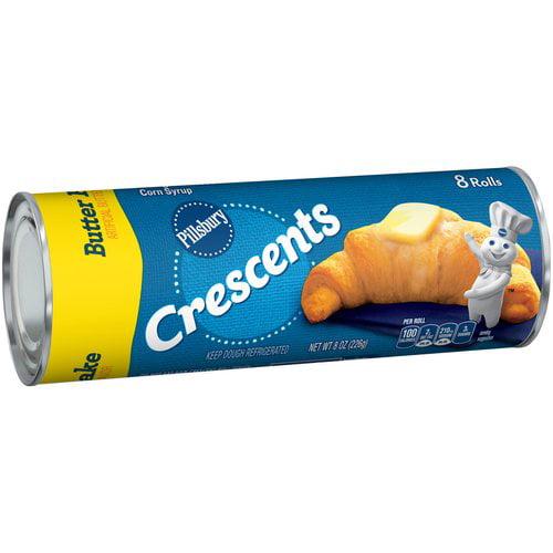 Pillsbury™ Refrigerated Butter Flake Crescent Rolls 8 ct 8.0 oz Can