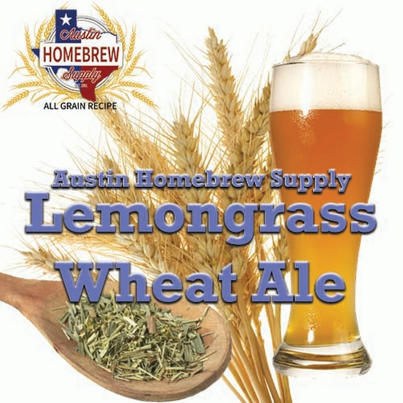 Austin Homebrew Lemongrass Wheat Ale (6D) - ALL GRAIN