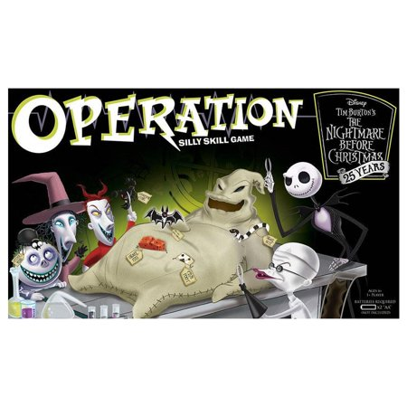 Operation The Nightmare Before Christmas 25 Years Board Game USAopoly OP004-261](Nightmare Before Christmas Party Game)