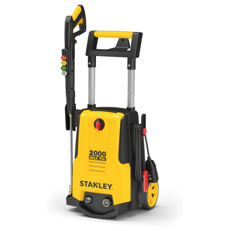 Stanley Electric Pressure Washer 2000 PSI, with Gun, Hose, Nozzles & Foam cannon, SHPW2000