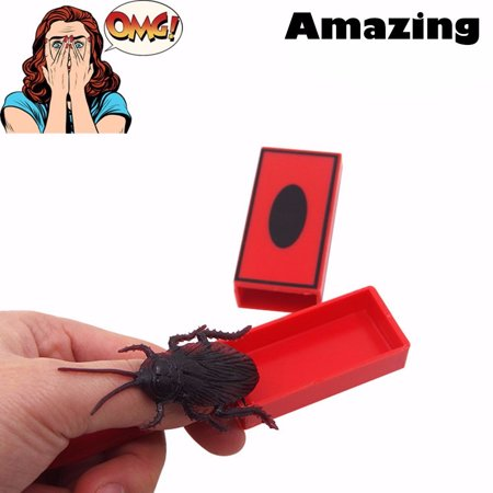 Iuhan Funny Tricks Magic Toys Magic Props Tricky Toys Cockroach Calling Stick Party (Halloween Party Magic Tricks)