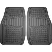 Armor All 2-Piece Grey Rubber Interior Truck/SUV Floor Mat