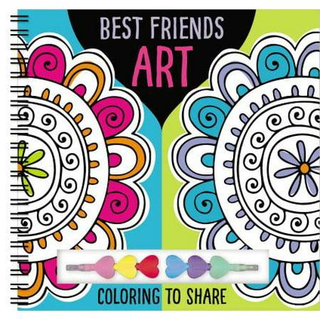 Art Books Best Friends Art (Best Friend Day Ideas)
