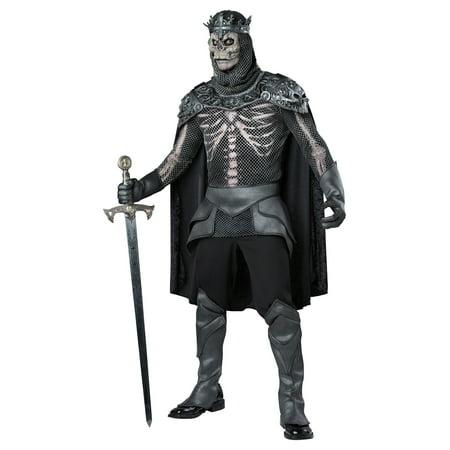 Men's Skeleton King Costume - Skeleton Costumes For Men