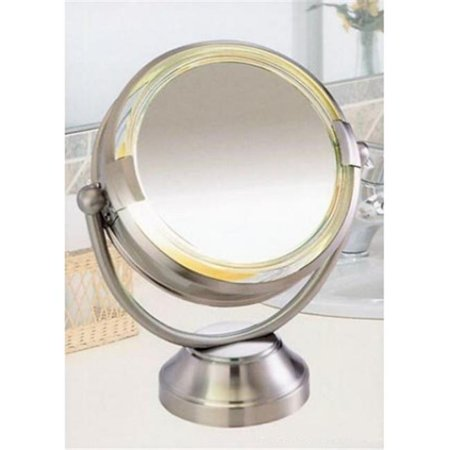 Fluorescent Lighted Magnifying Vanity
