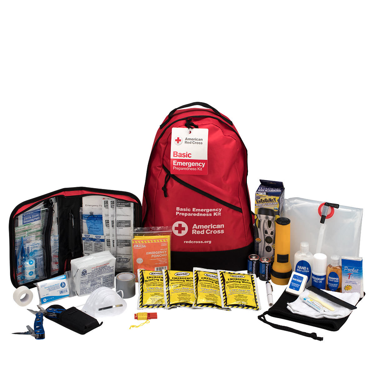 Emergency Preparedness Basic 3-Day Backpack