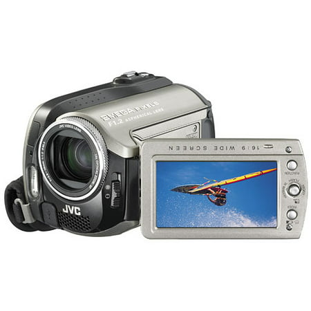 - JVC Everio 2MP 30GB Hard Disk Drive Camcorder