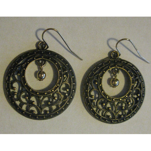 Red Water Designs Antique Drop Earrings