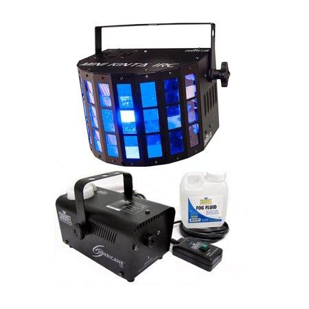 - CHAUVET DJ Mini Kinta IRC 3W LED RGB DMX Light Effect + H700 Fog/Smoke Machine