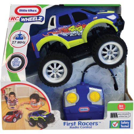 Little Tikes RC Wheelz First Racers Radio Controlled (Blue Hat Toy Company Thunder Tumbler Rc Car)