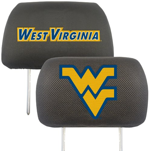 West Virginia University Headrest Covers