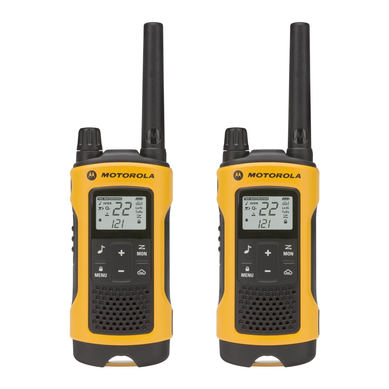 Walkie Talkie For Men, Motorola Talkabout T400 35mi Rechargeable Two Way Radio