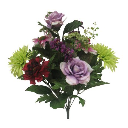 Mixed Rose Bouquet Mxd Purple