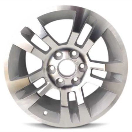 Aluminum Alloy Wheel Rim 18 Inch 14-18 Chevy Silverado 1500 5 Double Spoke PZX Spoke Polished Alloy Wheel