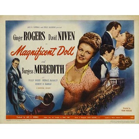 """Magnificent Doll - movie POSTER (Style A) (11"""" x 14"""") (1946)"""