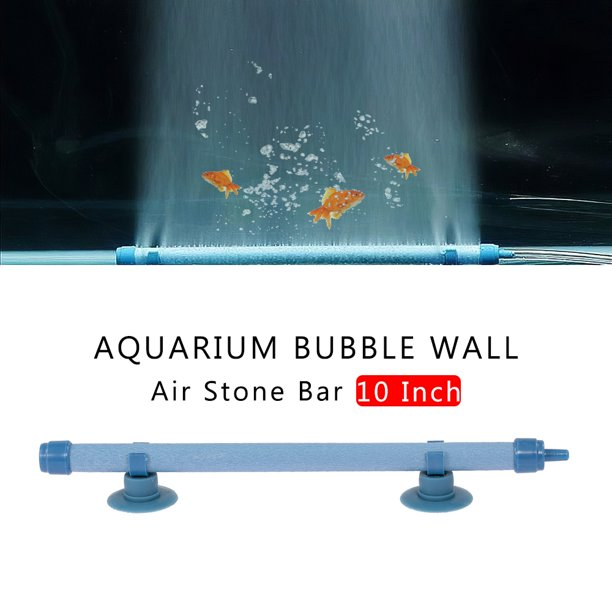 Aquarium Bubble Wall Air Stone Bar 10 Inch Fish Tank Bubble Wall Air Diffuser Household Tool Walmart Com Walmart Com