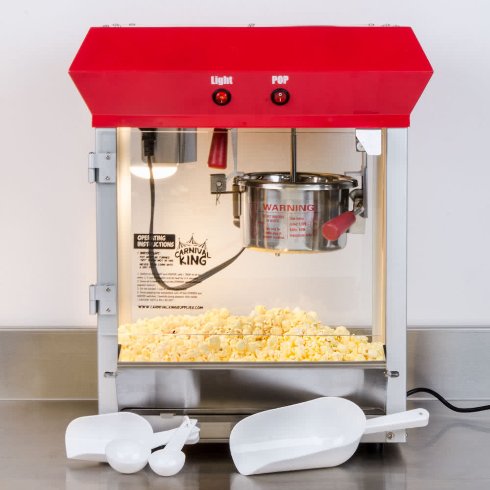 Popcorn Popper   120V By TableTop King