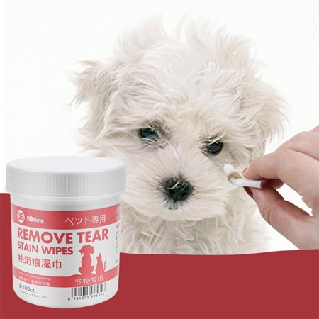 Pet Eye Cleaning Wet Wipes for Cat Dog Bichon Pomeranian Teddy