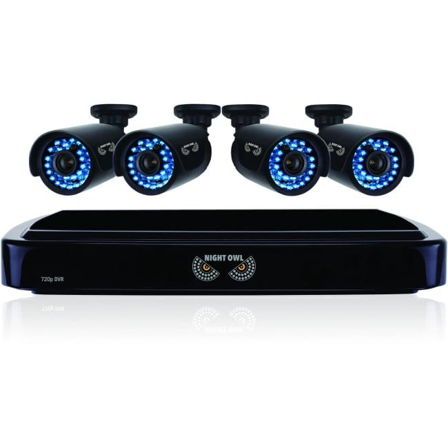 NIGHT OWL - OBSERVATION & SECURITY NIGHT OWL B-A720-41-4 HD720P 4X4CH AHD 1 TB HDD