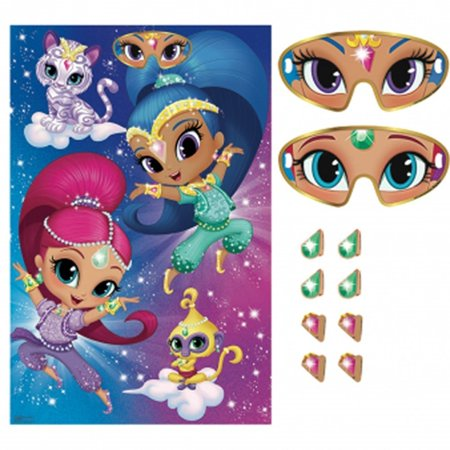 Shimmer and Shine Party Game Poster (1ct) - Shine Party