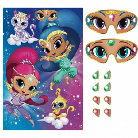 Shimmer and Shine Party Game Poster (1ct)](Shine Party)
