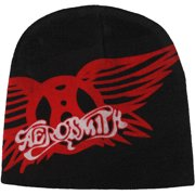 Aerosmith Men's Red Wings Beanie Multi