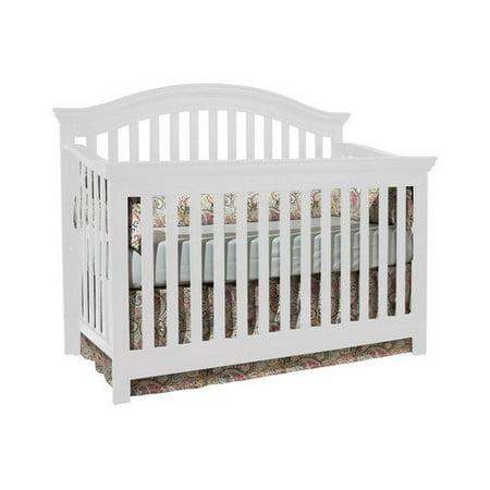 Munir Furniture Rhapsody 4 In 1 Convertible Crib White