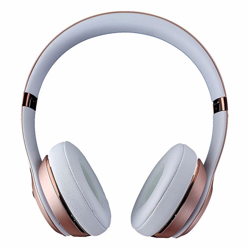 Beats Solo3 Wireless Series On-Ear Headphones - Pink Rose Gold (MNET2LL/A) (Refurbished)