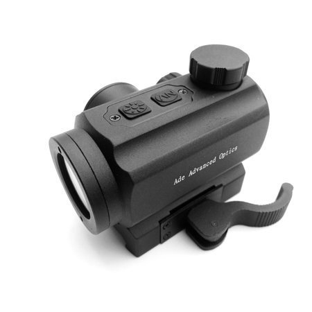 Ade Advanced Optics 1x20 Infrared Red Dot Scope Sight Quick Release Mount for Night Vision Shooting