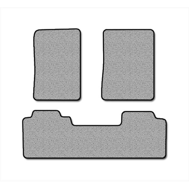 Averys Floor Mats 527-701 Custom-Fit Nylon Carpeted Floor Mats, Black, 3 Piece Set
