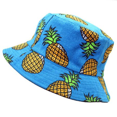 TURNTABLE LAB Women Bucket Hat Boonie Hunting Summer  Outdoor Caps Fruit Pattern Special - Fruit Hat