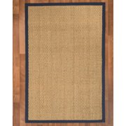 Natural Area Rugs Maritime Handwoven Beige Area Rug