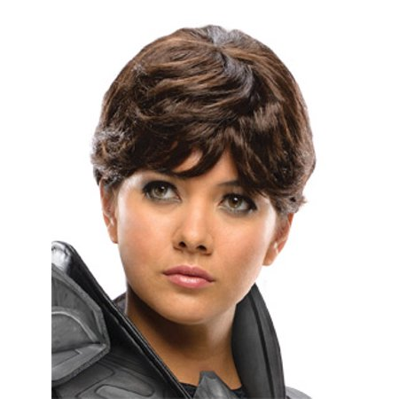 Superman Man Of Steel Faora Costume Wig Adult