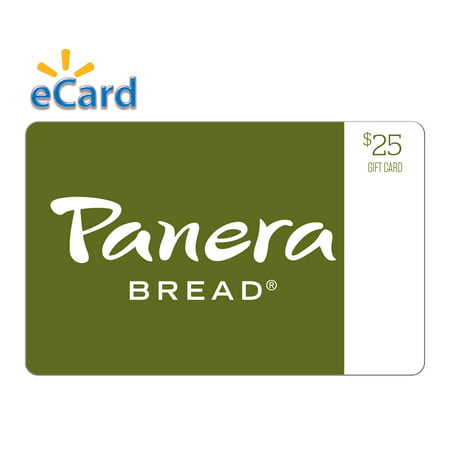 Panera Bread $25 Gift Card (Email Delivery) (Panera Bread All Natural Turkey Chili Bowl)