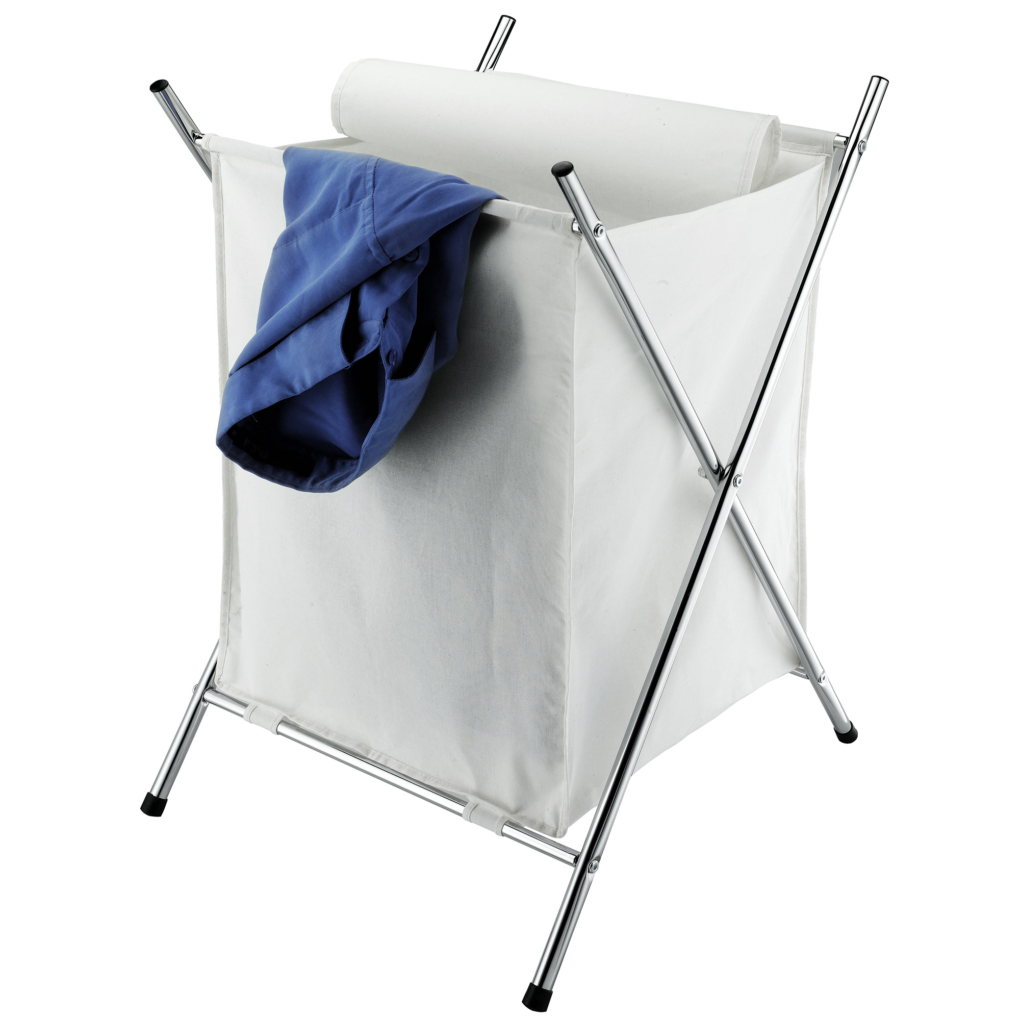 Furinno Wayar Foldable Laundry Basket with Stand, WS17005