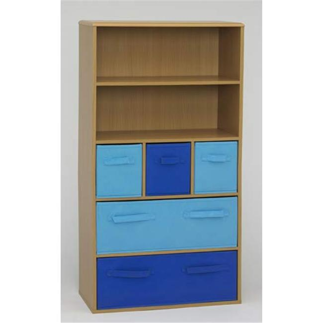 4D Concepts 12355 Boys Storage Bookcase in Beech
