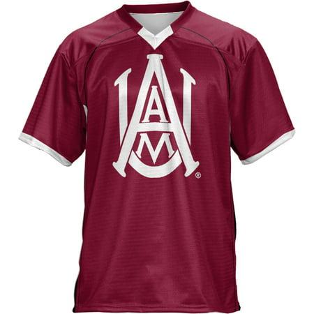 ProSphere Men's Alabama A&M University No Huddle Football Fan Jersey (Alabama Spirit Jersey)