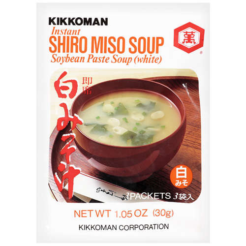 Kikkoman Instant Shiro Miso Soybean Paste White Soup, 1.05 oz